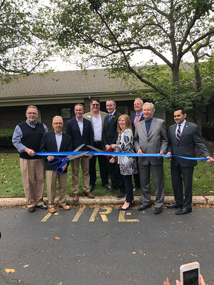 September 19, 2019: Senator Santarsiero at the Agasar Family WellCare at Inner Spa ribbon cutting