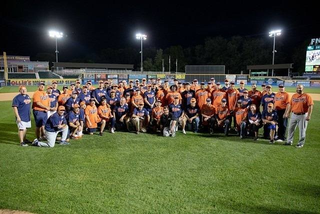 September 25, 2019: Senator Santarsiero at the annual Capital All-Star Game