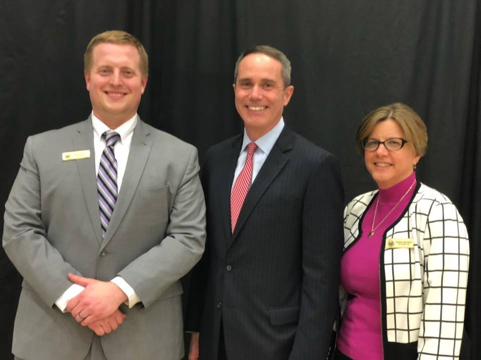 March 18, 2019: Senator Santarsiero at Delaware Valley University for the annual Bucks County Science Research Competition