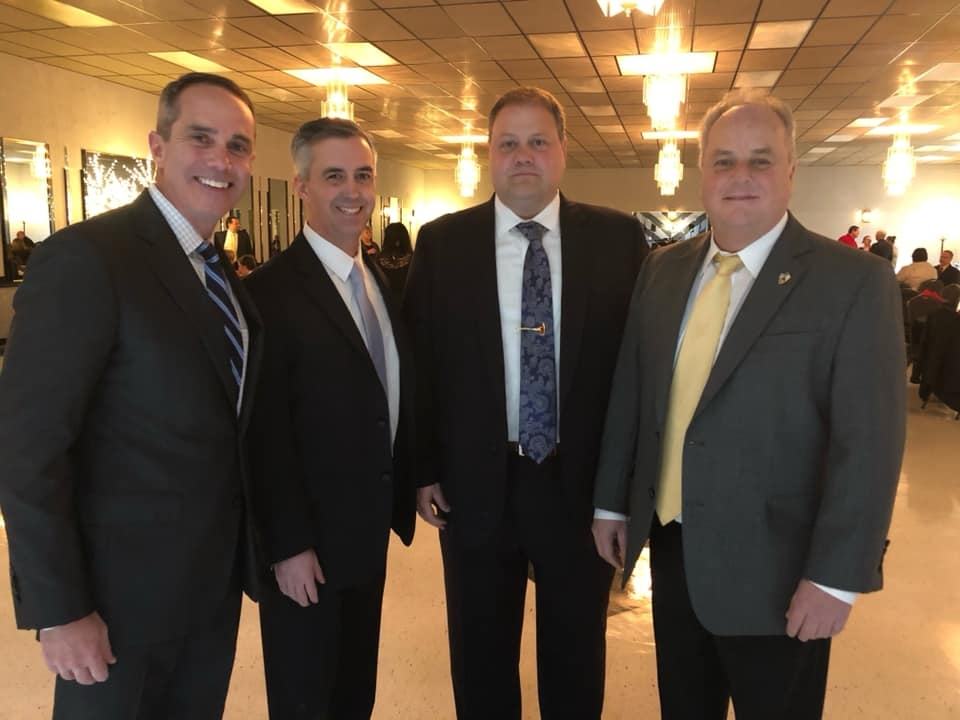 January 20, 2019: Senator Santarsiero at the Falls Township Firefighters 67th Annual Banquet