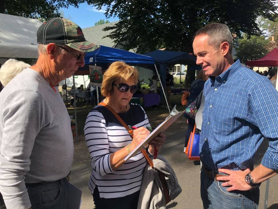October 12, 2019: Senator Santarsiero at Historic Fallsington Day