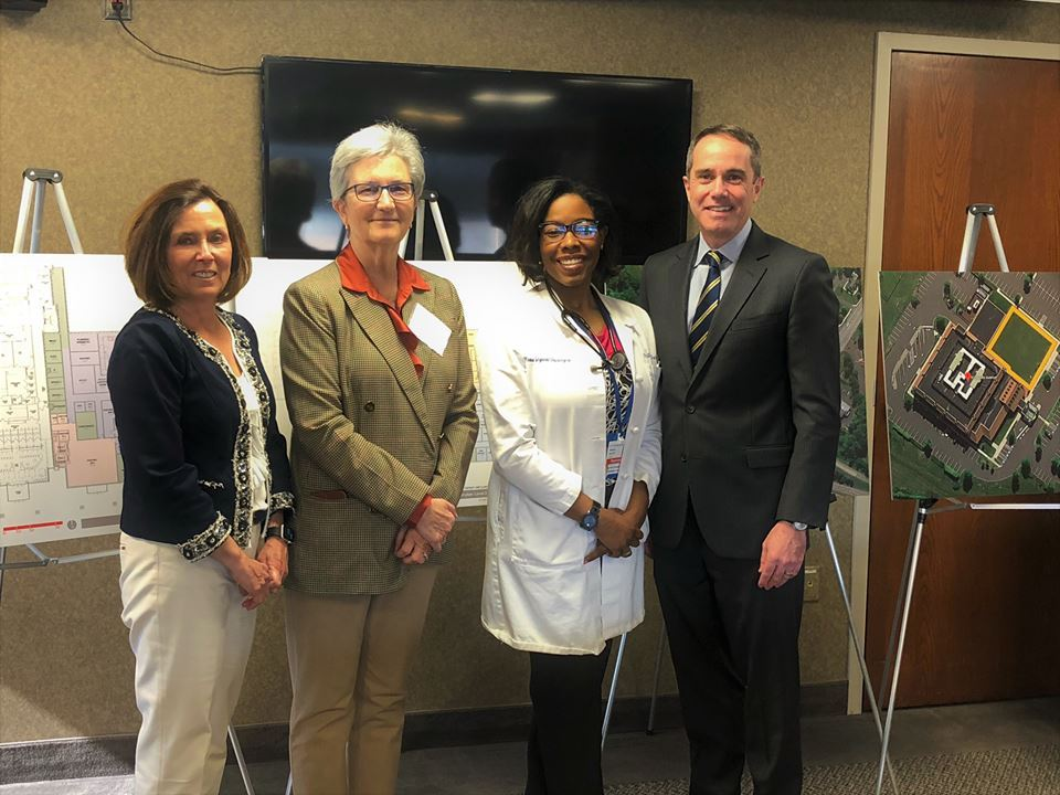 April 4, 2019: Senator Santarsiero with doctors and administrators of Grand View Health