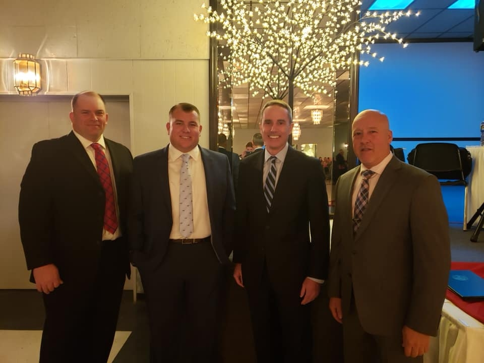 March 2, 2019: Senator Santarsiero at the annual Morrisville Fire Company banquet