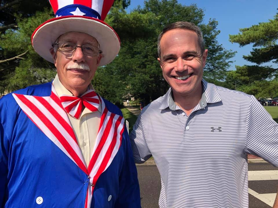 July 4, 2019: Senator Santarsiero at the Tri-Municipal 4th of July parade in New Britain.
