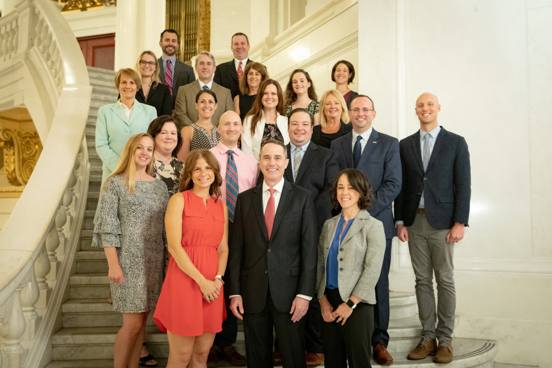 June 18, 2019: Senator with members of the PSEA - PA State Education Association
