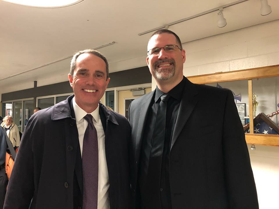 March 22, 2019: Senator Santarsiero with the Pennsbury Community Band