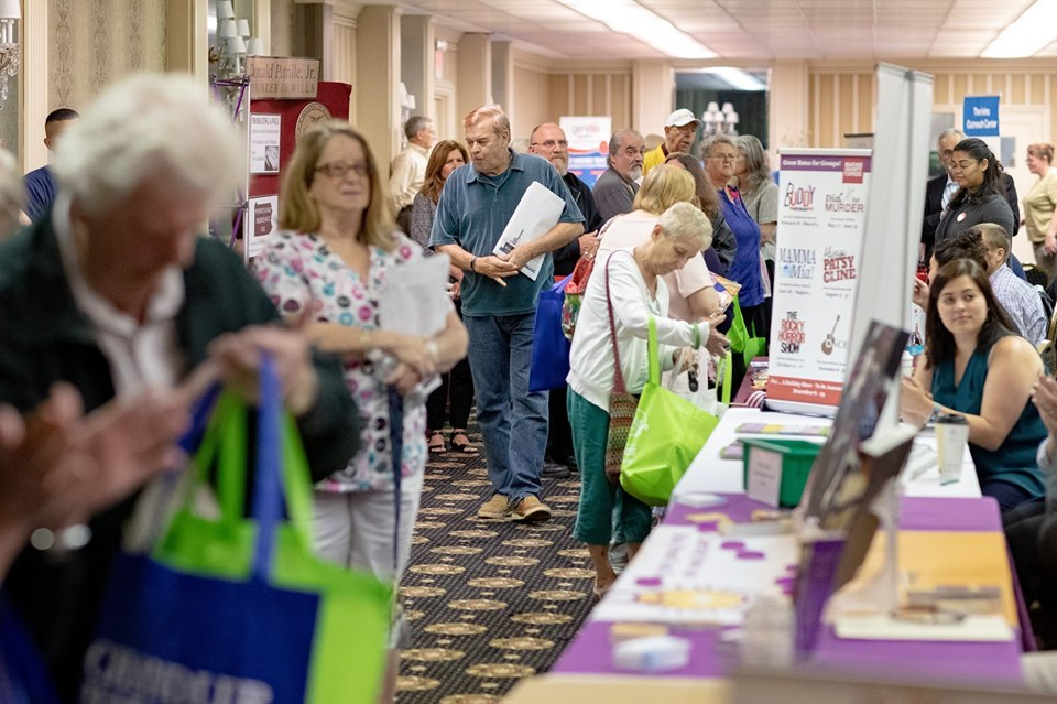 June 13, 2019: Senator Santarsiero hosts Senior Expo in Levittown.
