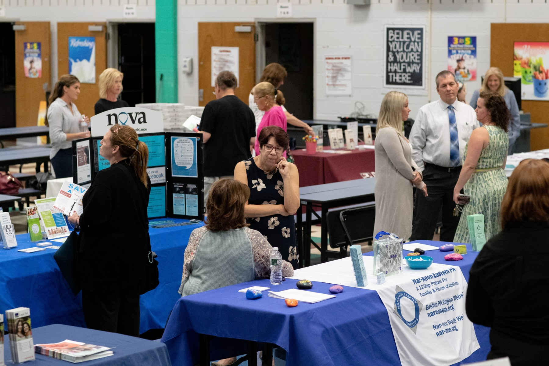 September 16, 2019: During National Recovery Month, state Senator Steve Santarsiero (D-10) hosted an Addiction Prevention and Recovery Open House at William Penn Middle School in Yardley.