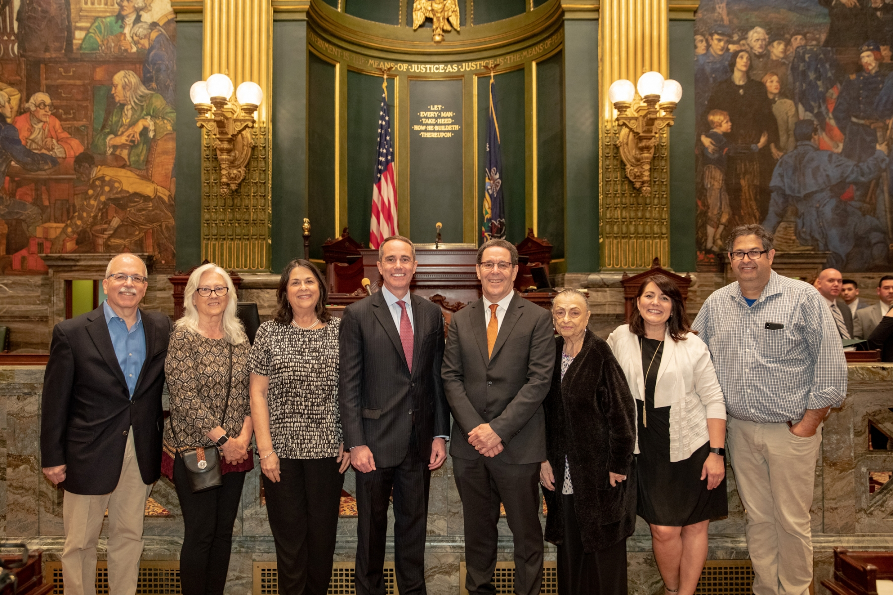 June 3, 2019: Senator Santarsiero, Representative Warren Introduce Resolutions Congratulating Newtown Resident, Nationally Recognized Sportswriter Jayson Stark