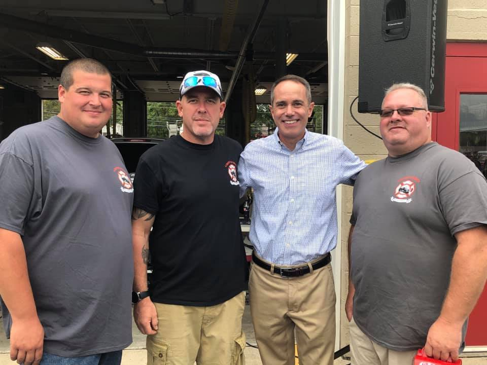 September 14, 2019: Senator Santarsiero at the Tullytown Fire Company 100th Anniversary Parade