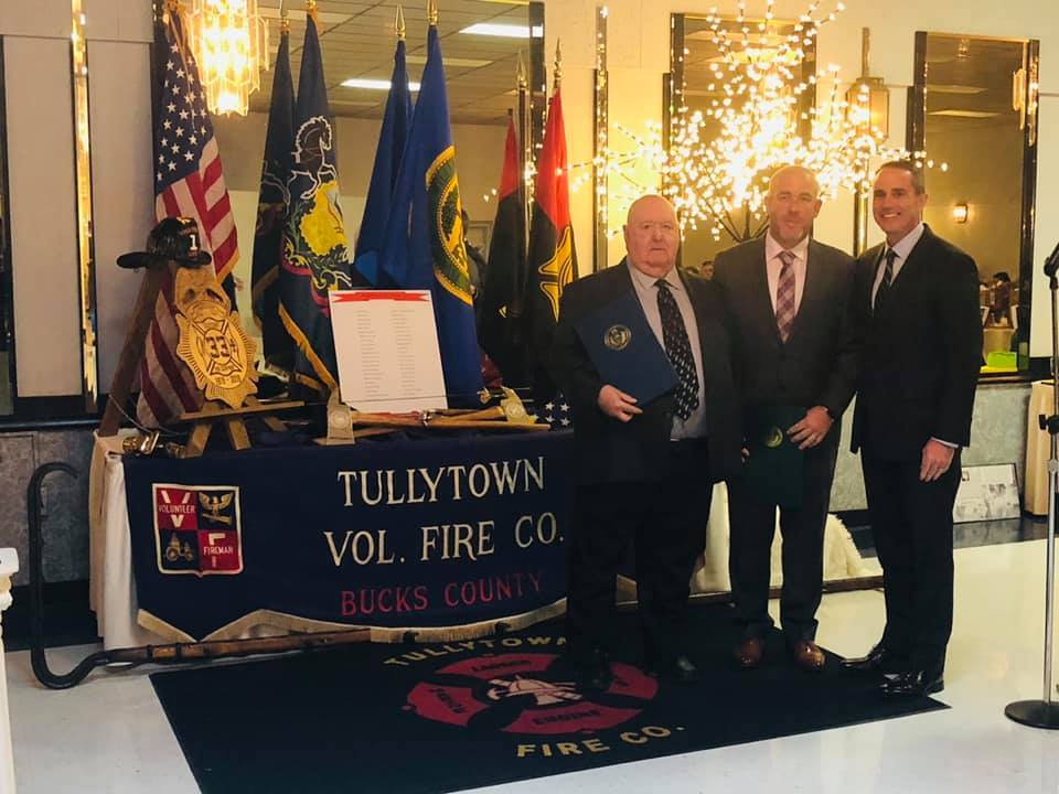 October 12, 2019: Senator Santarsiero at the Tullytown Fire Comapny's 100th Anniversary Celebration