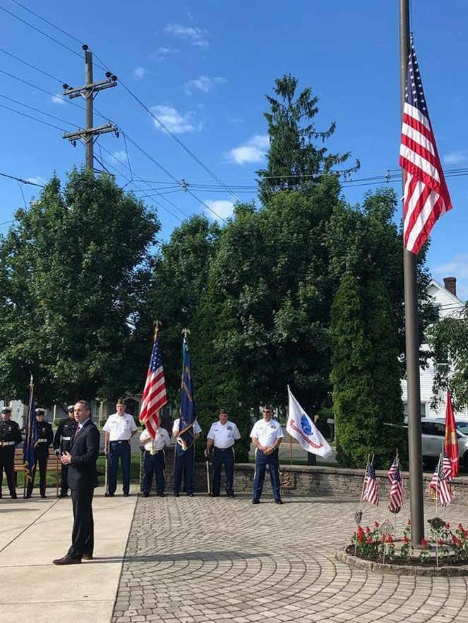 May 2019: Senator Santarsiero at the Tullytown Memorial Day Service