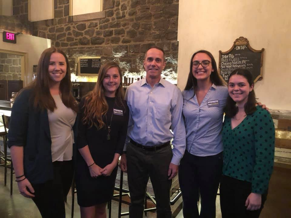 October 16, 2019: Senator Santarsiero at Vault Brewery in Yardley for a Climate on Tap event with PennEnvironment and Conservation Voters of PA.