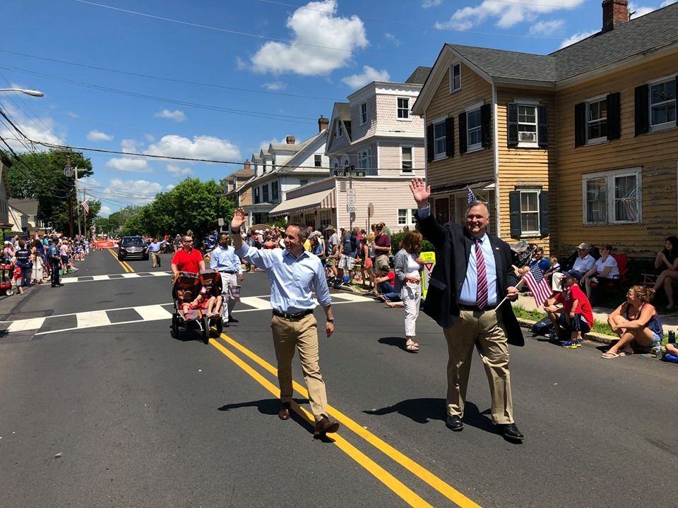 May 2019- Senator Santarsiero at the Yardley Memorial Day Parade