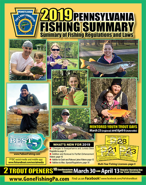 2019 PA Fishing Summary