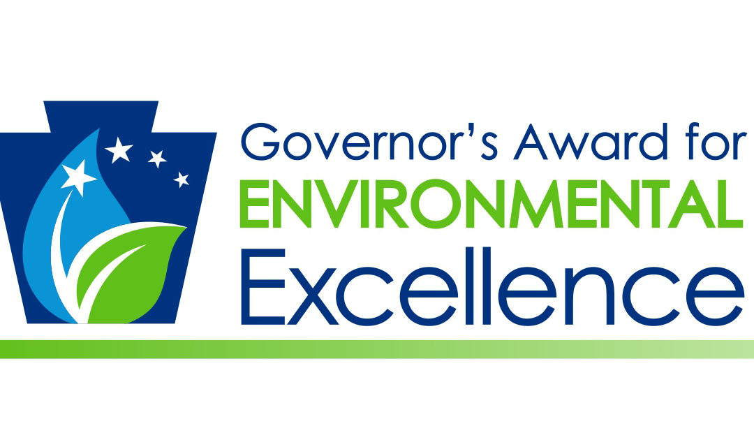 2019 Governor's Award for Environmental Excellence.