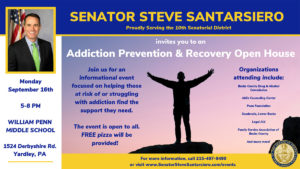 Addiction Prevention & Recovery Open House