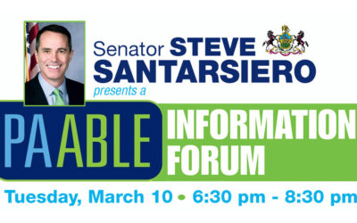 Senator Santarsiero to Host PA ABLE Information Forum